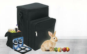 Win a picnic cool bag from the Easter Bunny