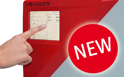 BINDER KBF 240 constant climate chamber with new controller