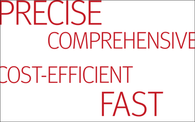 faster - more precise - more cost-efficient