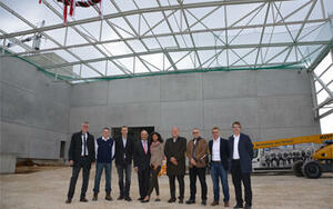 BINDER GmbH in Tuttlingen celebrates topping-out ceremony for the new factory