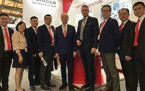 BINDER strong in Asia