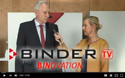 Innovaties bij BINDER