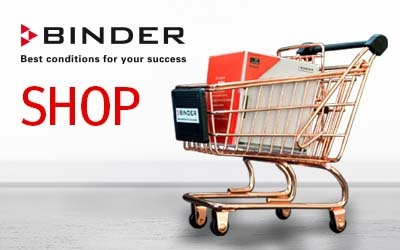 Launch of new BINDER online store