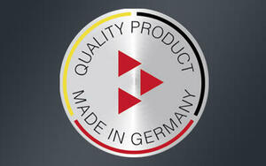Made in Germany – 100% final inspection