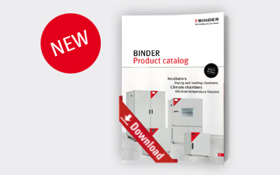 New BINDER product catalog