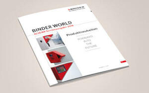 New BINDER WORLD magazine