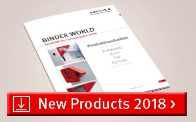 La nueva revista BINDER WORLD