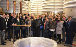 Sales representatives visit company headquarters in Tuttlingen